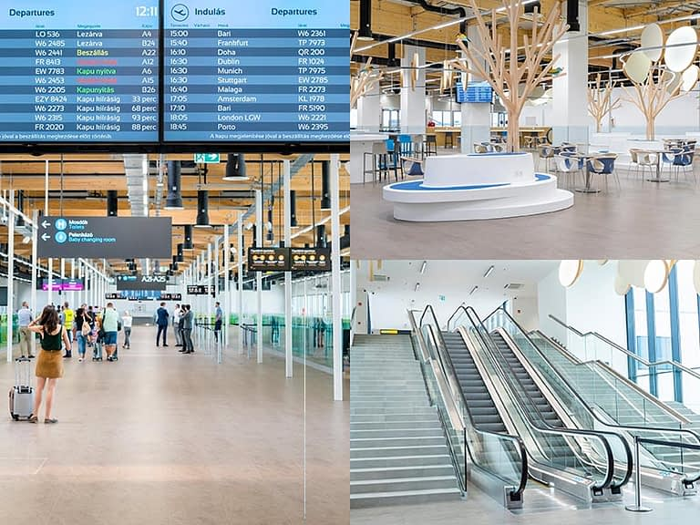 BUDAPEST AIRPORT: ELÉGEDETTEK AZ UTASOK A FEJLESZTÉSEKKEL