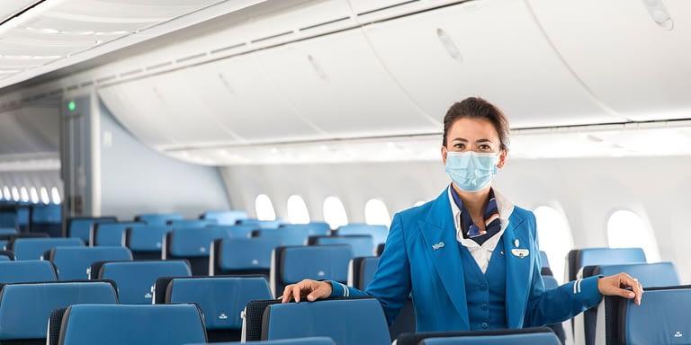 EGÉSZSÉGVÉDELMI DÍJAT KAPOTT A KLM